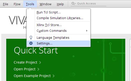 Configuring Sigasi Studio as default editor in Xilinx Vivado menu