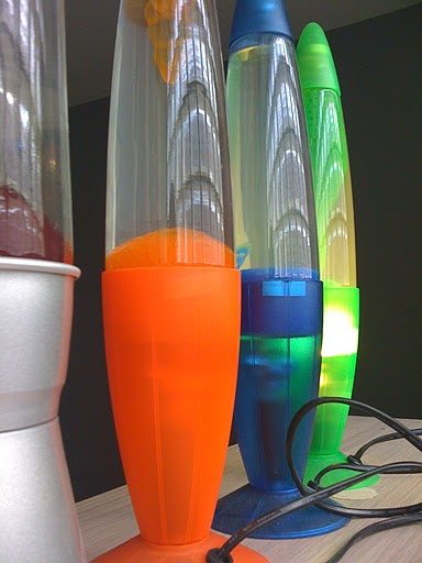 Our Lava Lamps