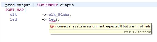 Check vector width in instantiations