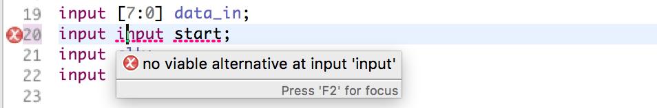 SystemVerilog syntax error