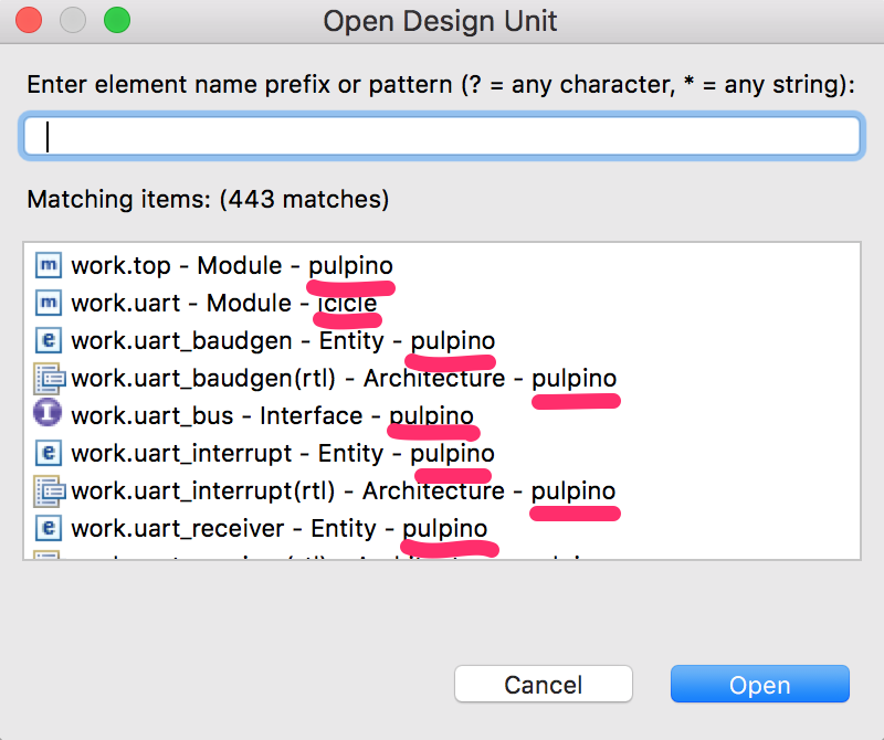 Open Design Unit