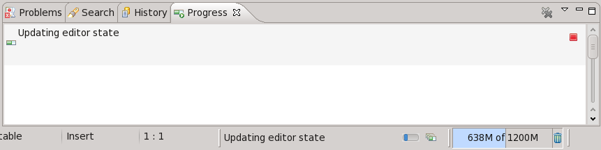 Updating editor state